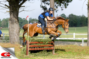 Owner Danielle Pieters in action. Image from DP Equestrian's Facebook page.